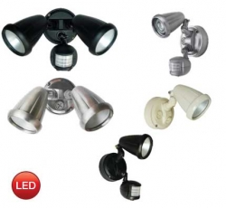 TITAN 2 LED SPOT + SENSOR - NICKEL - Click for more info