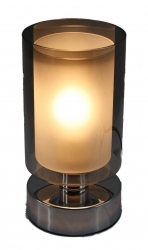 TOUCH LAMP GLASS - SMOKE - Click for more info