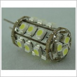 Bi Pin LED 1.6w Globe - white - Click for more info