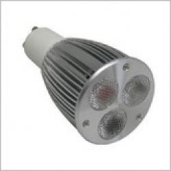 GU 10 LED Globe 9w - white - Click for more info