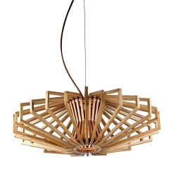 TIMBER PENDANT LAMP - UFO - Click for more info