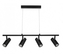 URBAN 4lt 5w LED Pendant - Black - Click for more info